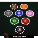 Pokerset LAZAR - Cash Game SUITS 750 Mix It