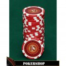 Lazar Cash Game Suits - 10 Euro , Rot , 11,5 g