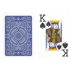 Plastic Playing Cards - Modiano Plastico Blue