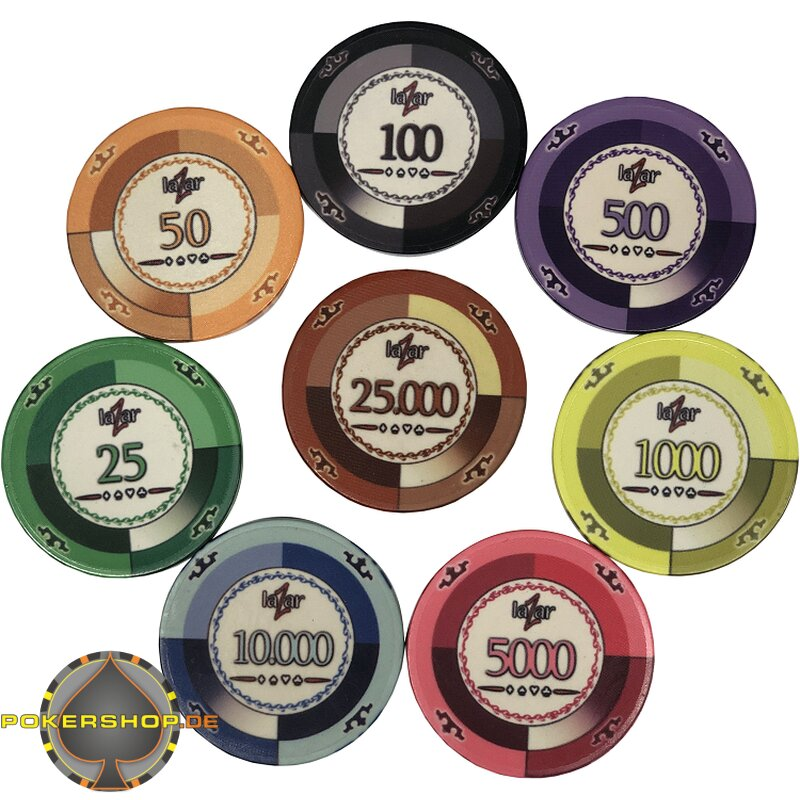 Pokerchips Werte