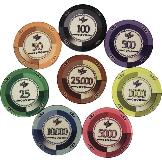 Pokerchips Keramik