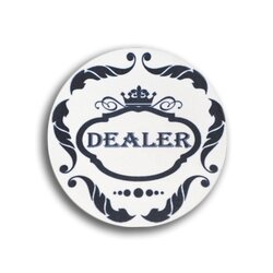 Ceramics - Dealer Button Crown