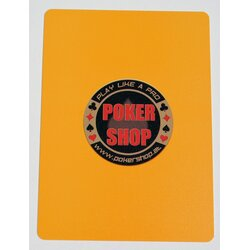 Cut Card - POKERSHOP Orange
