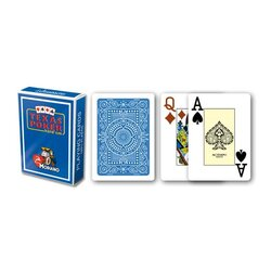 Plastic Playing Cards - Modiano Plastico Light-Blue