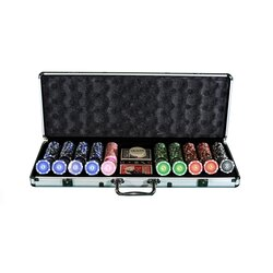 Poker Chip Set LAZAR - Cash Game SUITS - Highroller