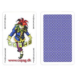 Plastic Playing Cards - COPAG Standard Blue