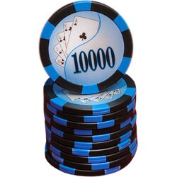 Pokerchip - Royal Flush 10.000 - dark