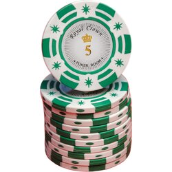 Pokerchip - Royal Crown Cash -  5