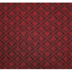 Poker Speed Cloth Suited, Red-Black