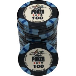 Ceramics - WSOP Ace High 100