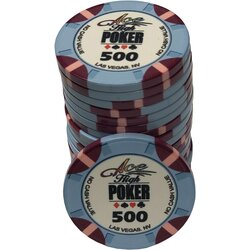Ceramics - WSOP Ace High 500
