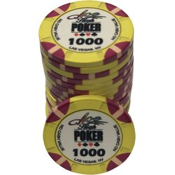 Ceramics - WSOP Ace High 1000