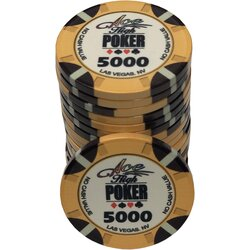 Ceramics - WSOP Ace High 5000