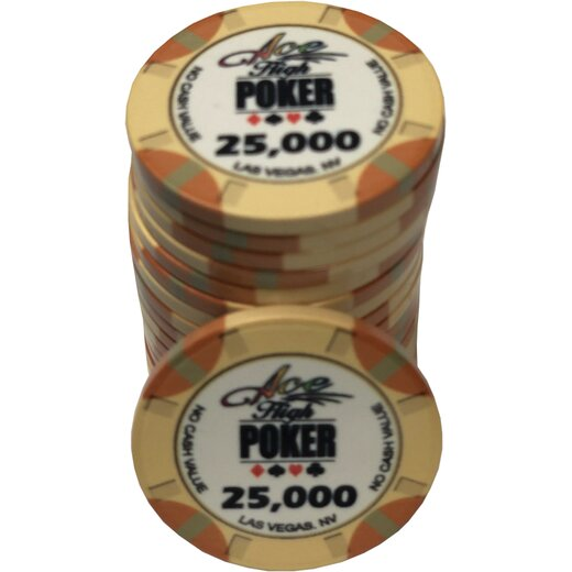 Ceramics - WSOP Ace High 25.000