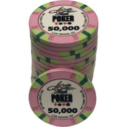 Ceramics - WSOP Ace High 50.000