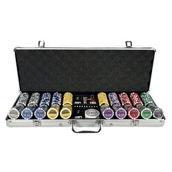 Poker Chip Set LAZAR - Cash Game Micro Stakes