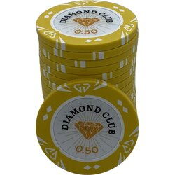 Pokerchip - Diamond Club 0,50