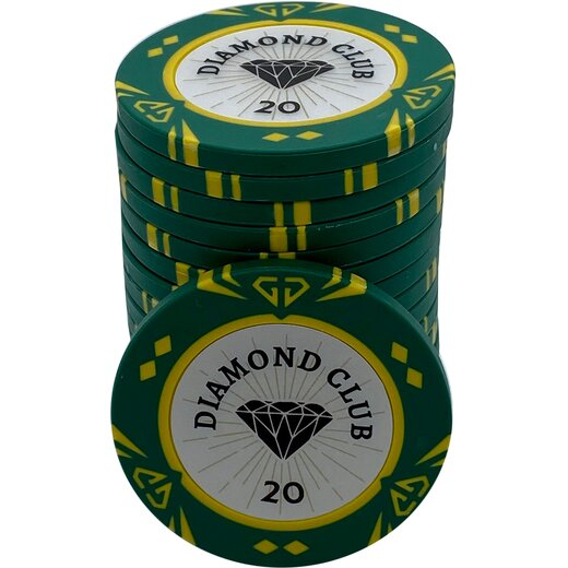 Pokerchip - Diamond Club 20