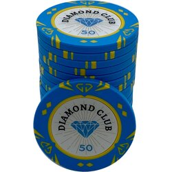 Pokerchip - Diamond Club 50
