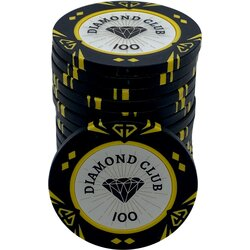 Pokerchip - Diamond Club 100