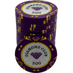 Pokerchip - Diamond Club 500
