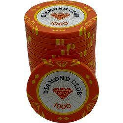 Pokerchip - Diamond Club 1000