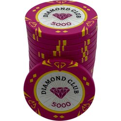 Pokerchip - Diamond Club 5000