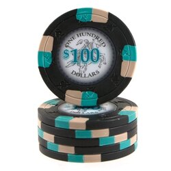Clay Pokerchip - Poker Knights 100$