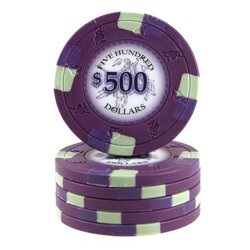 Clay Pokerchip - Poker Knights 500$