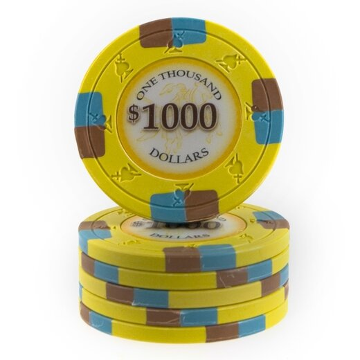 Clay Pokerchip - Poker Knights 1000$