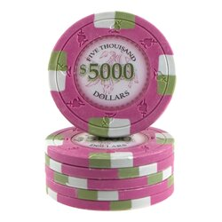 Clay Pokerchip - Poker Knights 5000$
