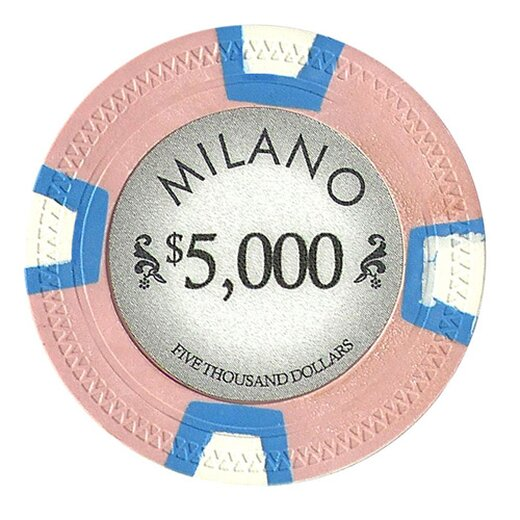 Pokerset Pure Clay Milano 500 - Turnier