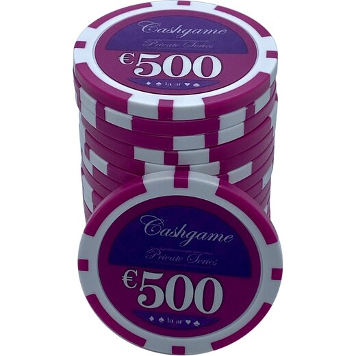 Pokerchip LAZAR - Cash Game 500 EUR