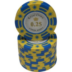 Pokerchip - Royal Crown  0,25