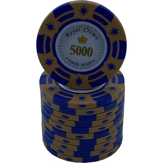 Pokerchip - Royal Crown  5000