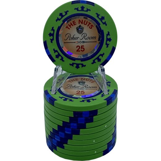Poker Chip Set - The Nuts 500 Tourney