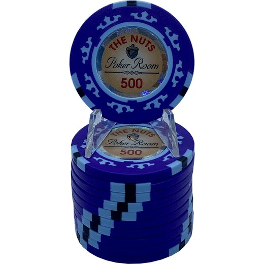 Poker Chip Set - The Nuts 500 MIX IT