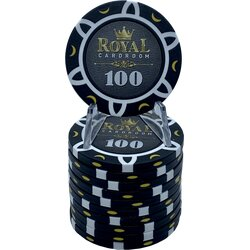 Pokerchip - Royal Cardroom 100