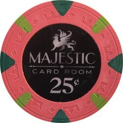 Poker Chip Majestic 0.25