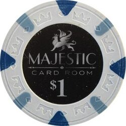 Poker Chip Majestic 1