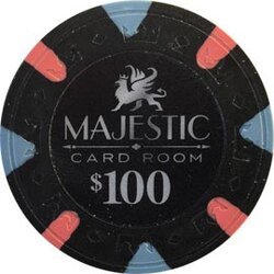 Pokerchip - Majestic 100