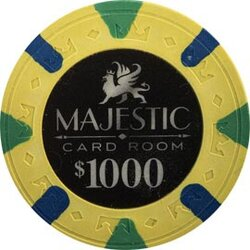 Pokerchip - Majestic 1000