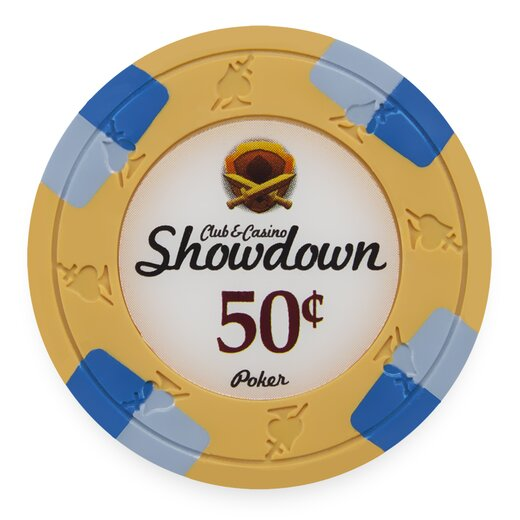 Clay Pokerchip - Showdown 0,50$