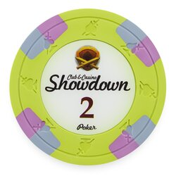 Clay Pokerchip - Showdown 2$