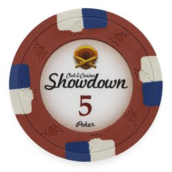 Clay Pokerchip - Showdown 5$