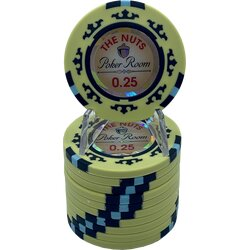 Pokerchip -The Nuts 0,25