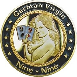 Card Guard - Pair of 9s - German Virgin