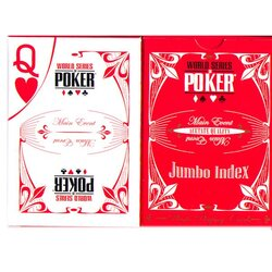 Pokerkarten - WSOP Acetat red
