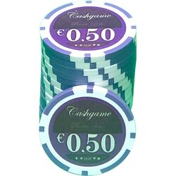 Pokerchip LAZAR - Cash Game 0,50 EUR