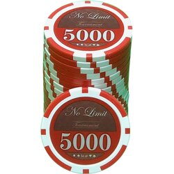 Pokerchip LAZAR - No Limit 5000